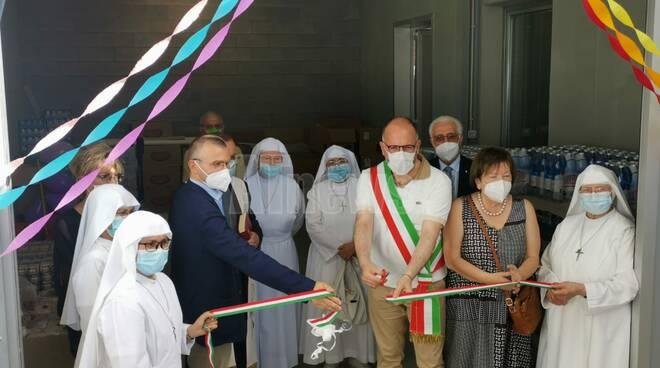 Inaugurazione migliorie mensa sociale Asti