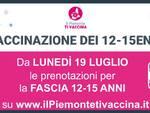 locandina adesione vaccini 12-15 anni