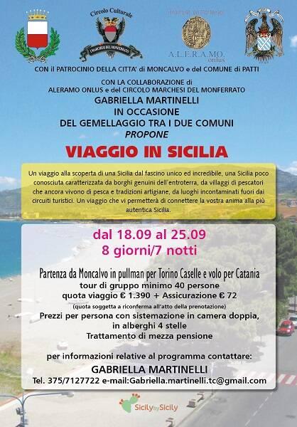 locandina viaggio in sicilia