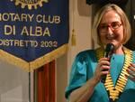 paola ferrero presidente rotary club alba