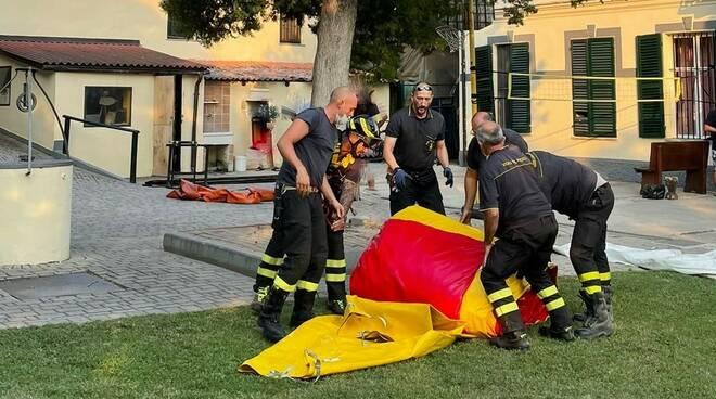 salvataggio vigili del fuoco vaglierano
