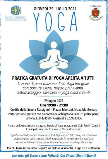 yoga nizza monferrato