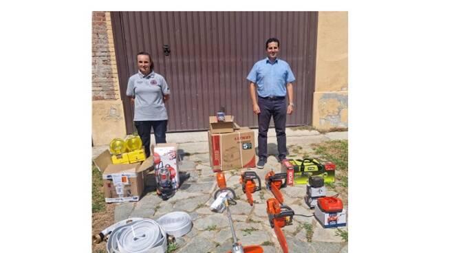 attrezzatura protezione civile castelnuovo belbo