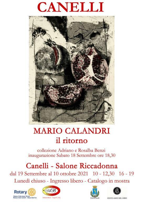"""""""Mario Calandri il ritorno"""" a canelli"""