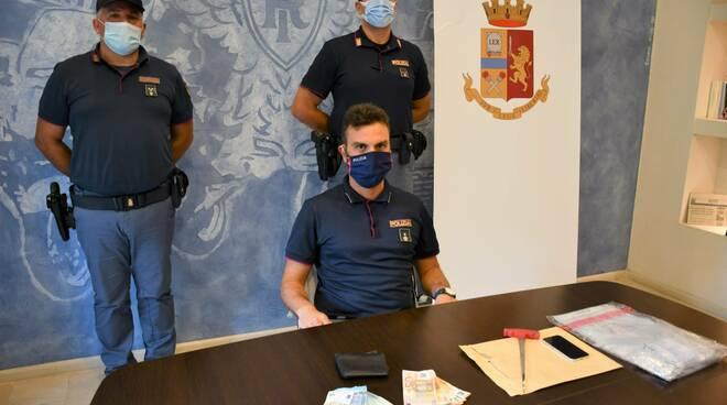 arresto spacciatore piazza catena