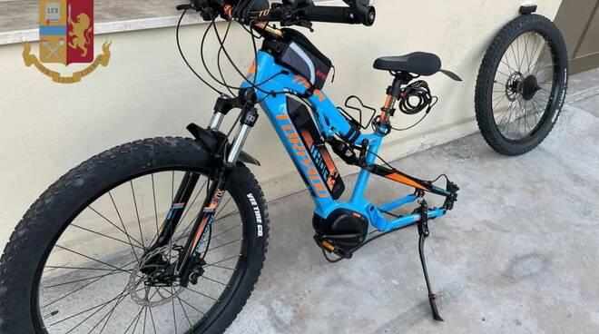 Bici rubata Asti