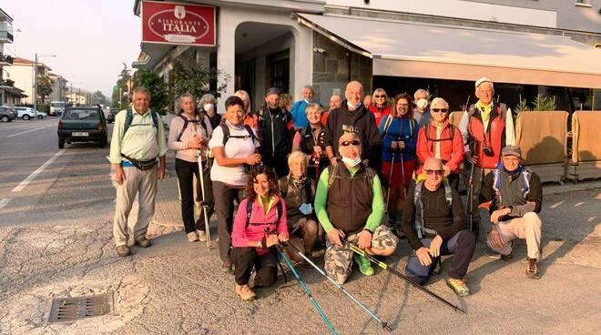 Terminato il trekking autunnale dei Castelli Bruciati