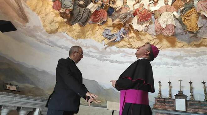 Crea, inaugurati sabato mattina i restauri alla splendida cappella del Paradiso