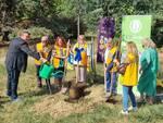 Cerimonia piantumazione 5 alberi al parco Biberach donati dal Distretto Lions 108ia3