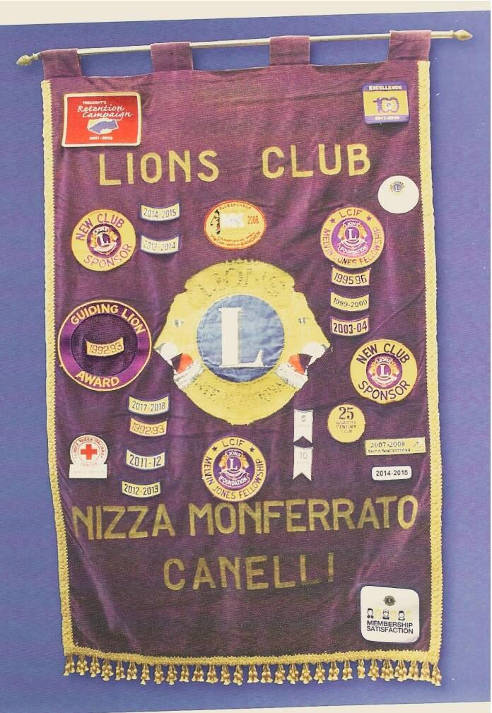 charter night lions  club nizza canelli