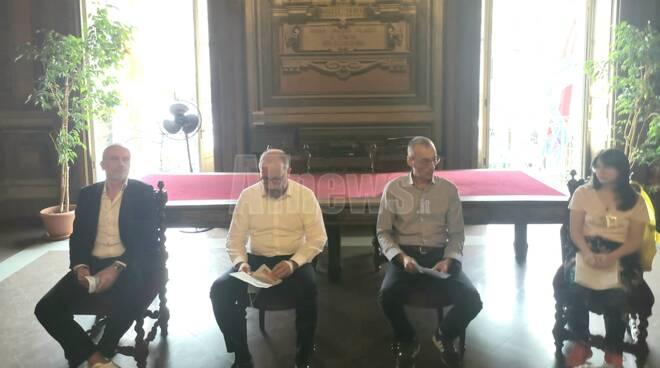 Conferenza stampa mobilità Asti