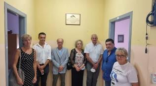Inaugurazione targa Dottor Caneparo dell'Associazione Alzheimer di Asti