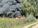 incendio auto a portacomaro