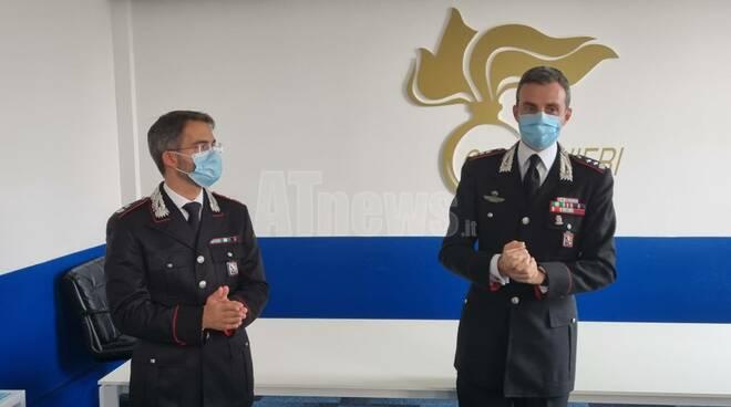 maggiore hoffmann e tenente colonnello breda cc asti