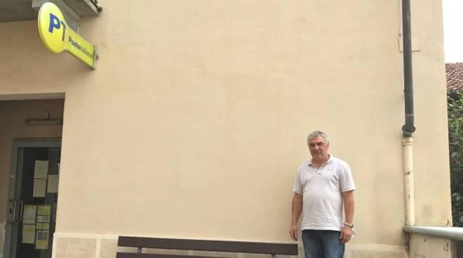 muro settime per murales con sindaco