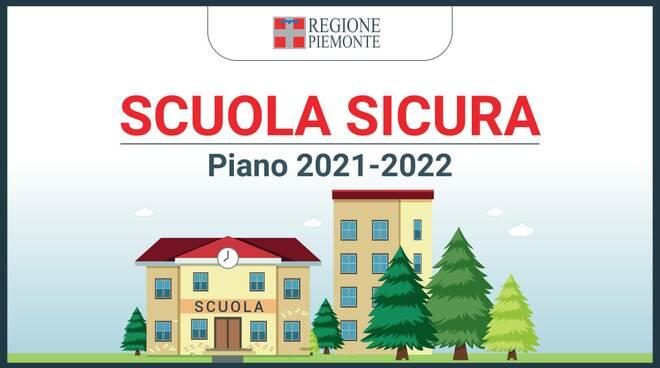 piano scuola sicura 2021/22 piemonte