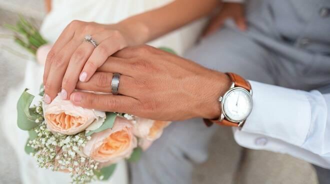 sposi, matrimonio, nozze