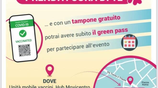 Unità mobile green pass Piemonte