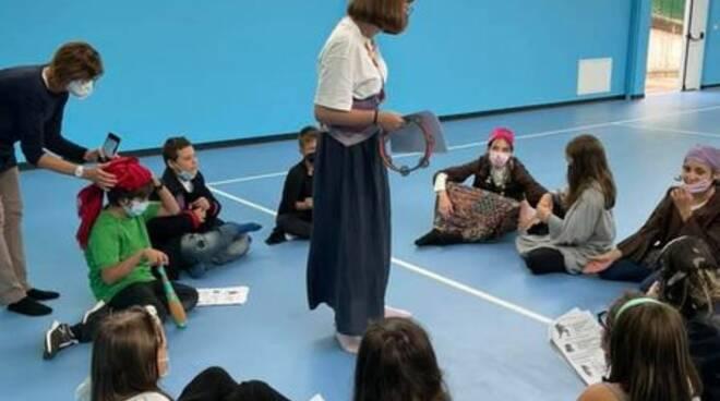 Murisengo, teatro francese a scuola
