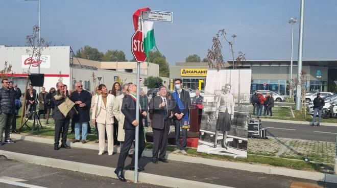 Cerimonia intitolazione via Pierina Campanella