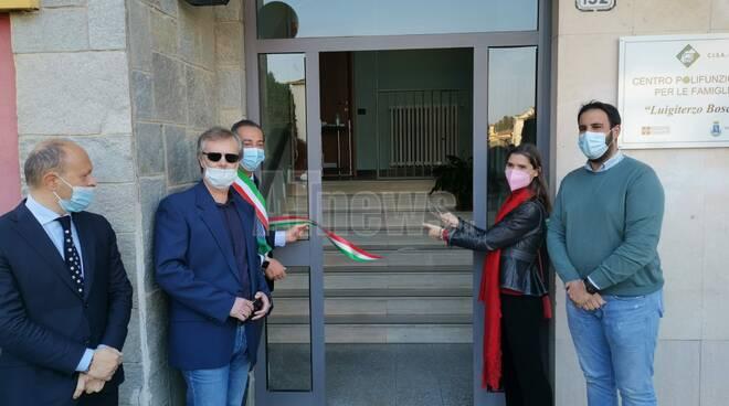 Inaugurazione centro polifunzionale per le famiglie Cisa Asti Sud Canelli