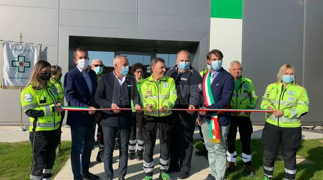 inaugurazione nuova sede croce verde nizza monferrato
